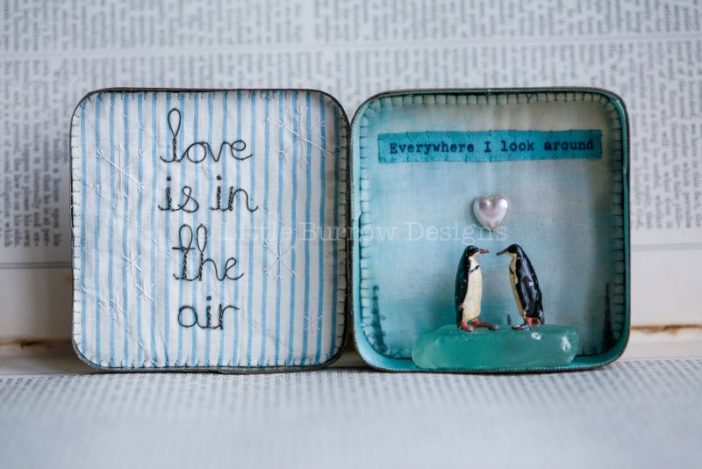 """""""Love is in the air"""", Penguin Storybox – from £125"""