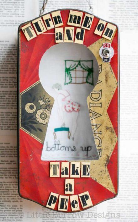 """Take a Peep"" Storybox, (red), £298"