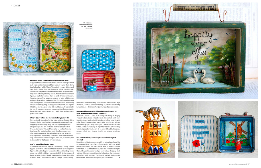 Little Burrow Designs, Claire Read, Interview Reclaim Magazine (2)