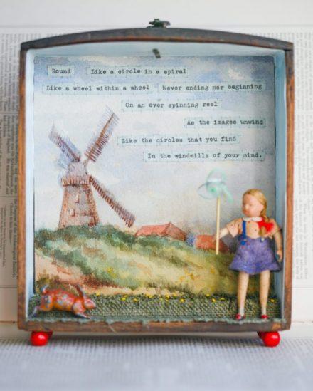 Windmills Storybox Sculpture £235