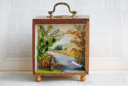 """A spot of fishing"""" Storybox"""