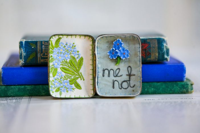 Forget-me-not, miniature Storybox, £78