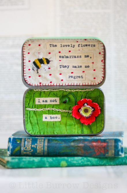 """The Flowers"" Storybox"