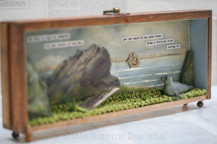 """""""The Selkie's Longing"""", Storybox Sculpture"""