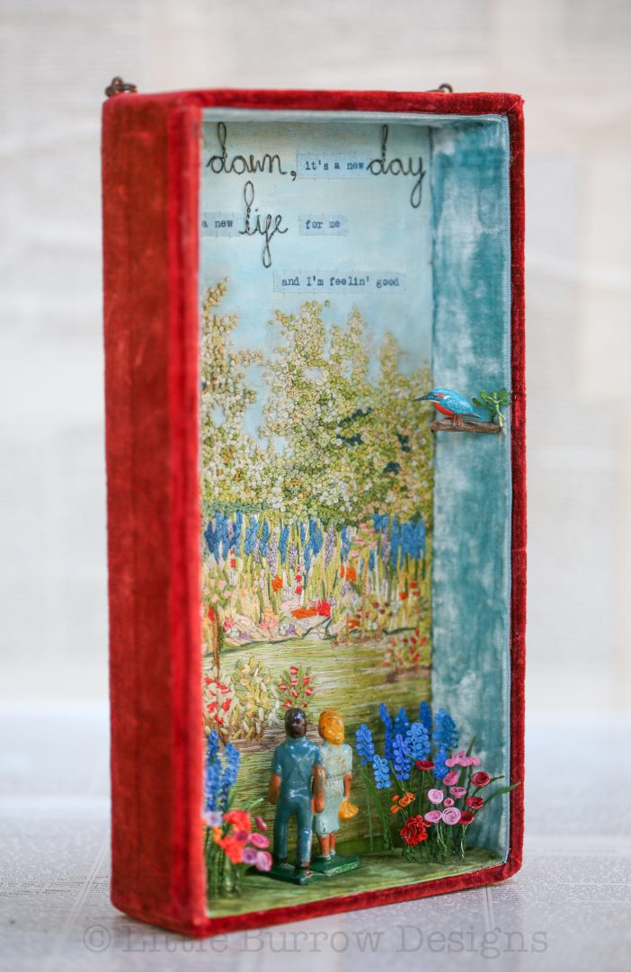 """Feeling Good"" Storybox Sculpture (Large)"