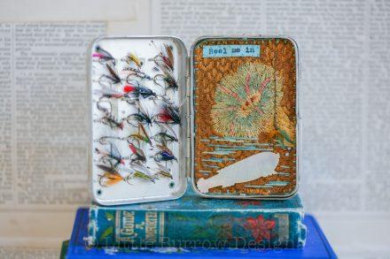 """""""Reel me In"""", Fishing Storybox, £145"""
