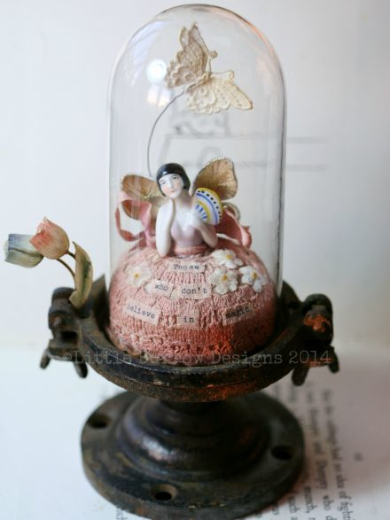 """BELIEVE"", CAPTURED FAIRY STORYGLOBE SCULPTURE, £250 (Reserved)"