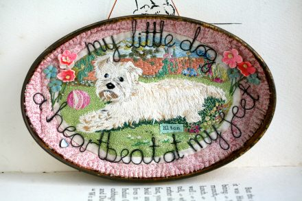 """My Little Dog"", Hanging Storybox"