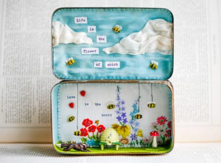 """Love is the Honey"" Storybox"