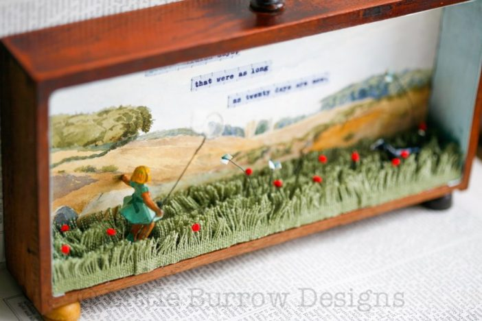 """Butterfly Days"" Storybox Sculpture – from £350 – made to order"