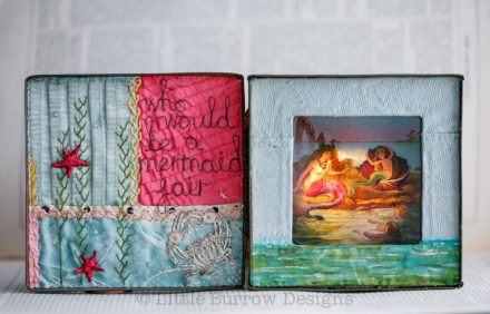 """Mermaids Singing"" – Illuminated Storybox, £325"