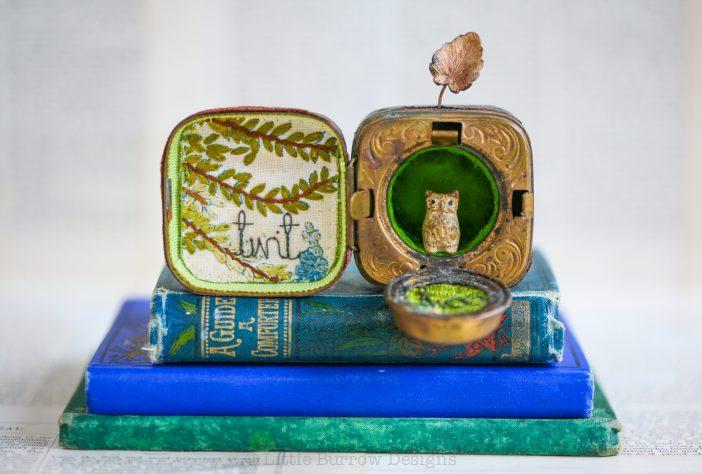 """Little Twit"", Storybox Sculpture"