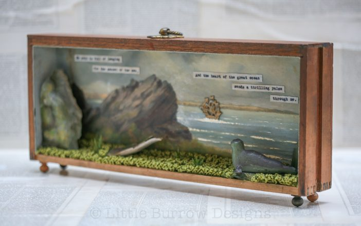 """The Selkie's Longing"", Storybox Sculpture"