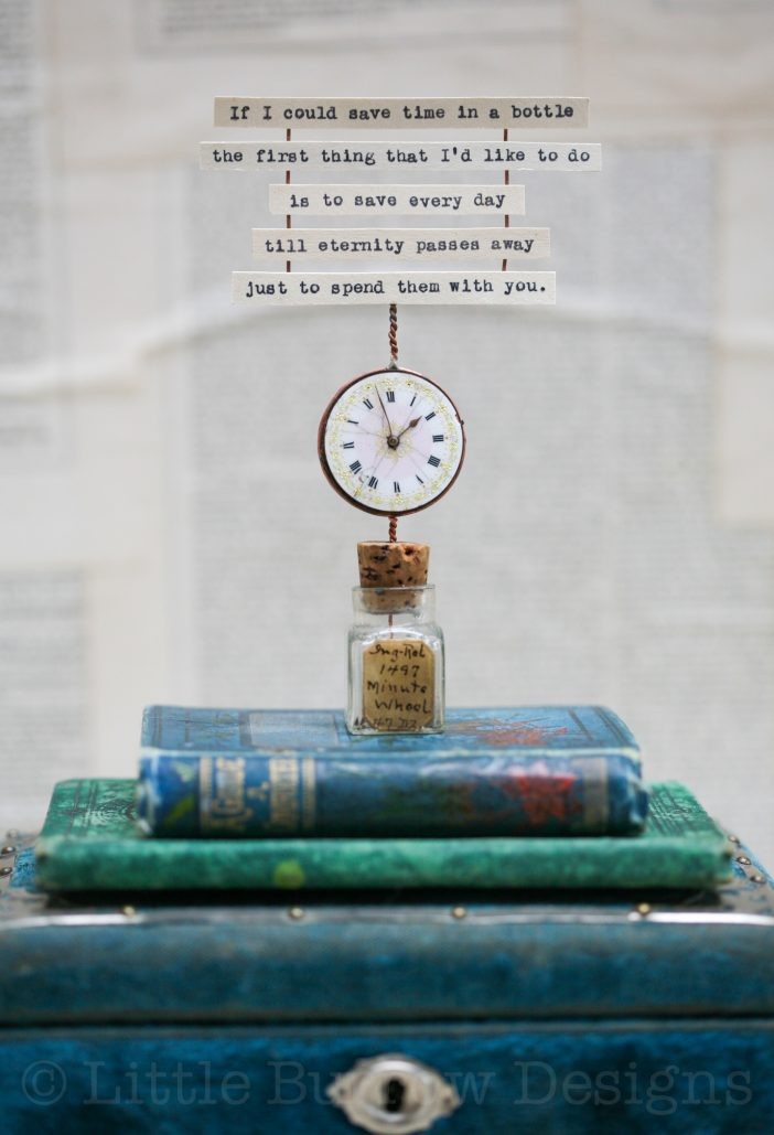 Time in a Bottle Sculptures – £85