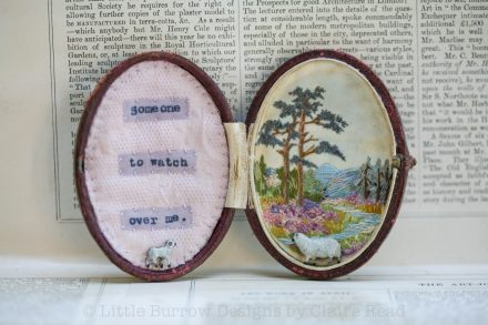 """""""Someone to Watch Over Me"""" Storybox, £110"""