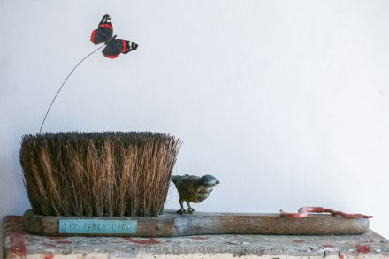 """The Early Bird"" Brush Sculpture, £385"