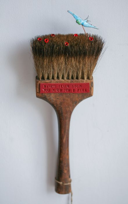 """Feelin' Good"", Brush Sculpture, £185"