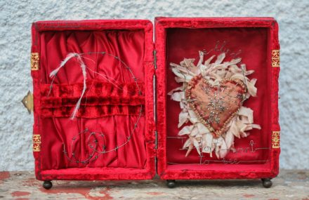 """""""Love is Blindness"""" Storybox Sculpture, £650"""