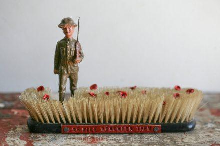 """The Fallen"" Brush Sculpture (Large) – £245"